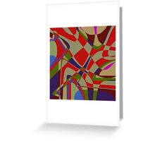 1039 Abstract Thought Greeting Card