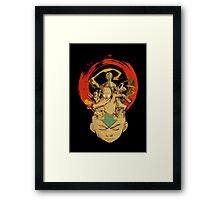 Aang: Avatar State Framed Print