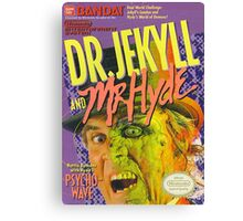 Dr. Jekyll and Mr.Hyde NES Canvas Print
