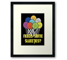 Gundam Haro sweeties Framed Print