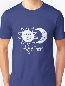 Together cute sun and moon Unisex T-Shirt