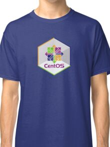 centos linux hexagonal hexagon Classic T-Shirt