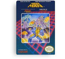 MegaMan NES Canvas Print