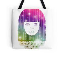 Space Girl Tote Bag