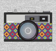 Retro Camera One Piece - Long Sleeve