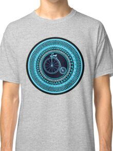 Vintage bicycle Mandala Classic T-Shirt
