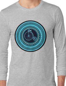 Vintage bicycle Mandala Long Sleeve T-Shirt