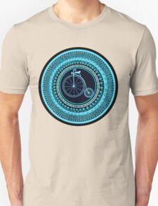 Vintage bicycle Mandala Unisex T-Shirt