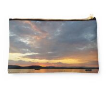 Summer sunset in Greece Studio Pouch