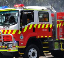 Schofields 1 Alpha - New South Wales Rural Fire Service Sticker