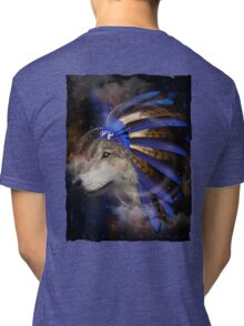 Fight For What You Love (Chief of Dreams: Wolf)  Tri-blend T-Shirt