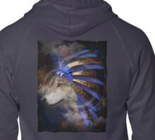 Fight For What You Love (Chief of Dreams: Wolf)  Zipped Hoodie
