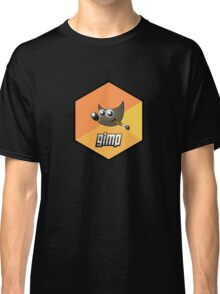 gimp design image paint software hexagonal Classic T-Shirt