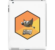 gimp design image paint software hexagonal iPad Case/Skin
