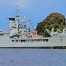 HMAS Tobruk (II)  by Tim Pruyn