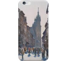 Afternoon at Krakow iPhone Case/Skin