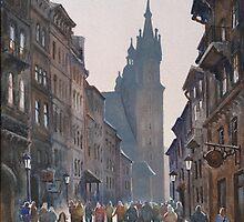 Afternoon at Krakow by Vera Kalinovska