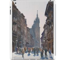 Afternoon at Krakow iPad Case/Skin