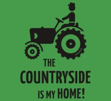 The Countryside Is My Home! (Farmer With Tractor) by MrFaulbaum
