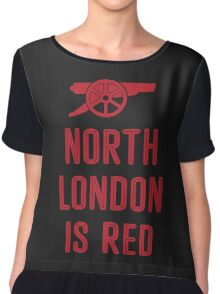 Arsenal FC - North London is Red Chiffon Top