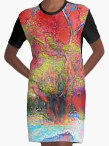 The Twins Version 002 Graphic T-Shirt Dress