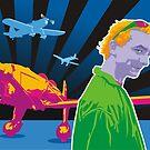 Tim at Archerfield airfield by Matt Mawson