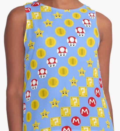 Super Mario! Contrast Tank
