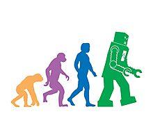 Sheldon Cooper - The Big Bang Theory Robot Evolution Colour Photographic Print