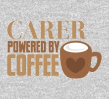 Carer powered by Coffee One Piece - Long Sleeve