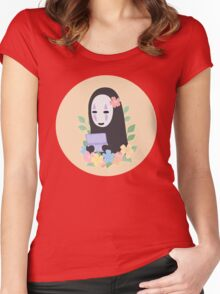 No Face Aloha Women's Fitted Scoop T-Shirt