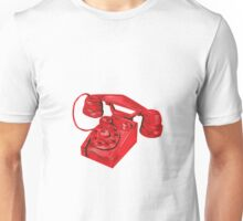 Telephone Vintage Drawing Unisex T-Shirt