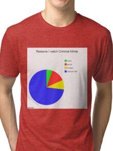Criminal Minds Graph Tri-blend T-Shirt
