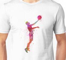 young man basketball player Unisex T-Shirt