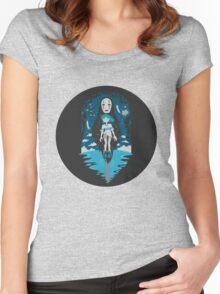 Spirited Away World Women's Fitted Scoop T-Shirt