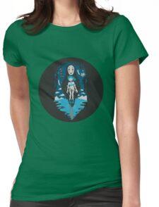 Spirited Away World Womens Fitted T-Shirt