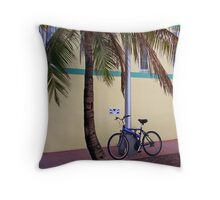 SOBE Beach Cruiser Throw Pillow