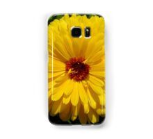 Holligold Blossoming Yellow Pot Marigold Flower Samsung Galaxy Case/Skin