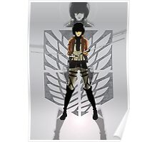 Warrior Mikasa Poster