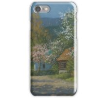 Countryside view iPhone Case/Skin