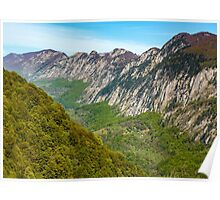 Limestone mountains Poster