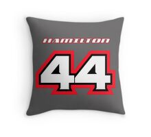 Lewis HAMILTON_2014_Helmet #44 Throw Pillow