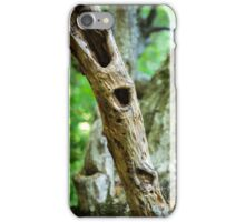 Dead tree in a young forest iPhone Case/Skin