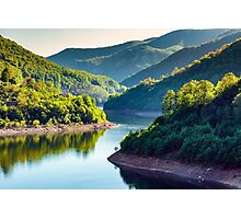 Lake between mountains Photographic Print