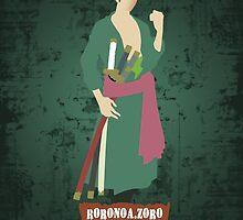 Zoro Minimalist  by PioMateo