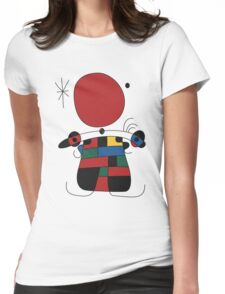 The Smile of the Flamboyant Wings Womens Fitted T-Shirt