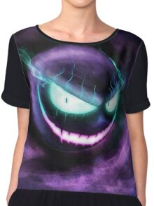 A wild Gastly appears! Chiffon Top