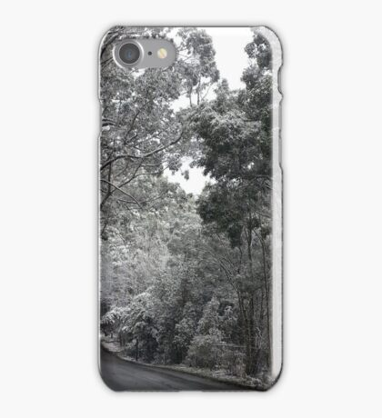 Snow, Mt Macedon ll iPhone Case/Skin