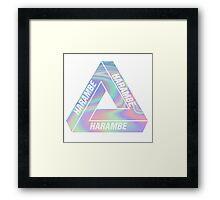 Harambe Palace Framed Print