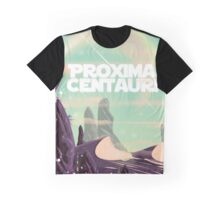 Proxima Centauri science fiction travel poster. Graphic T-Shirt