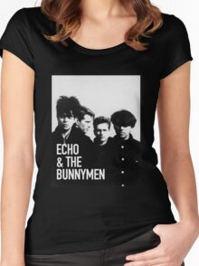 ECHO & THE BUNNYMEN Album Cover Women's Fitted Scoop T-Shirt